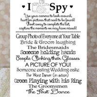 I Spy Card