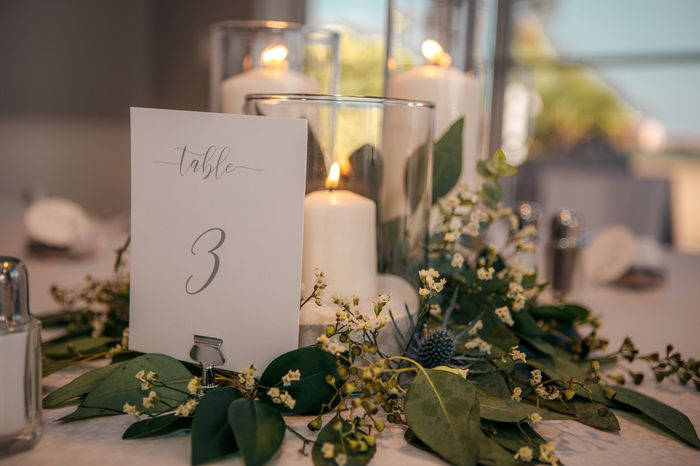 Table numbers ? Show me yours! 7