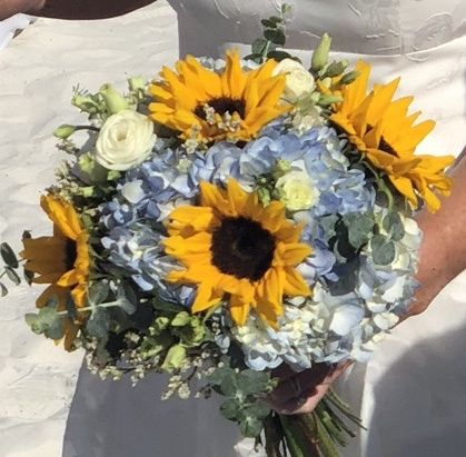 Sunflowers Bouquet 5