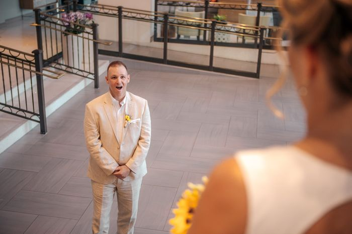 Favorite wedding day picture 1