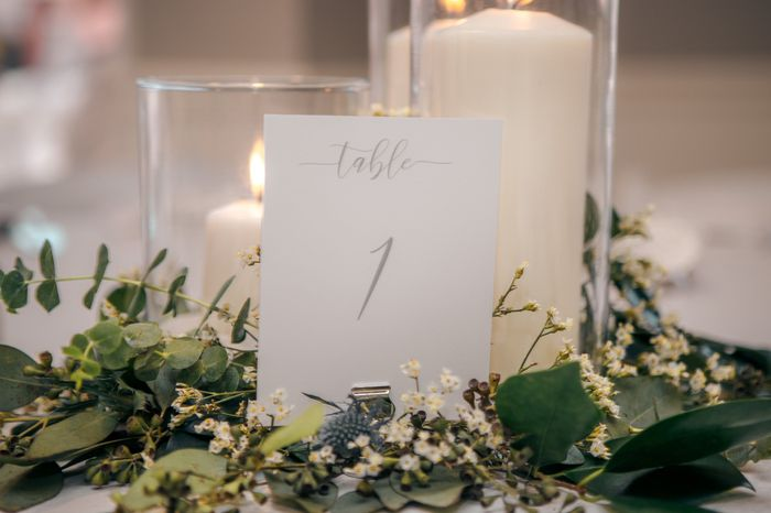 What did you choose for centerpieces? 4