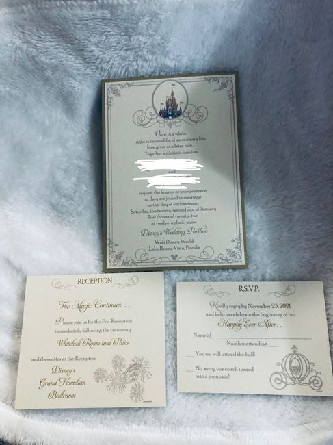 Our invitations!! 1