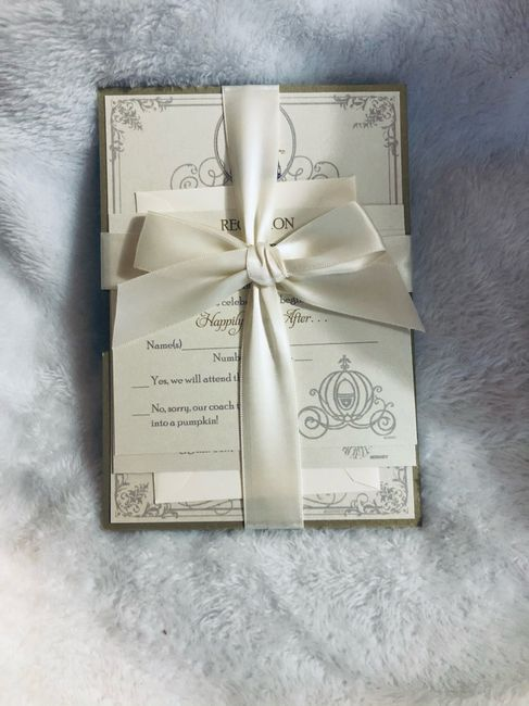 Our invitations!! 2