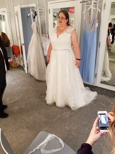 How did you know your dress was The One? 1