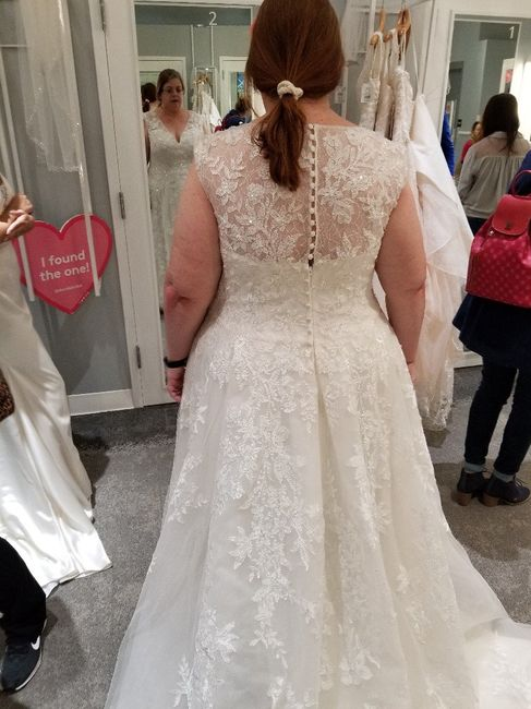 How did you know your dress was The One? 2
