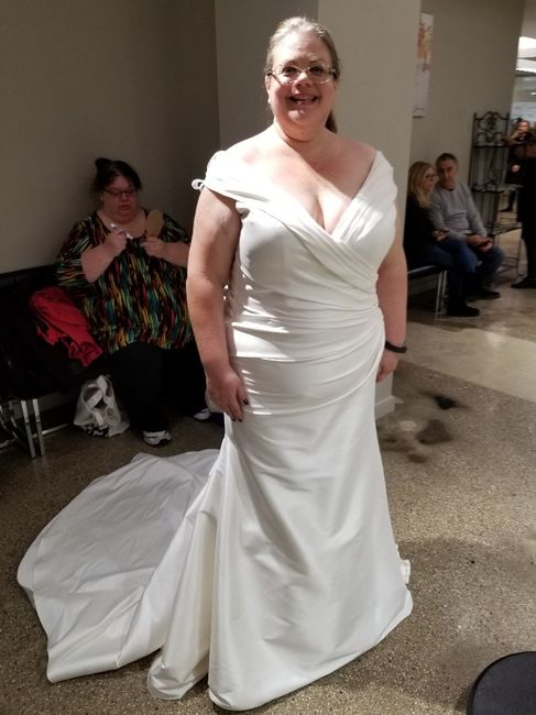 Let's see all the dresses you tried - good and bad 38