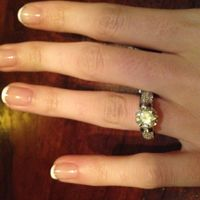 SPINOFF: Whether you like your engagement ring or not, let's see them!