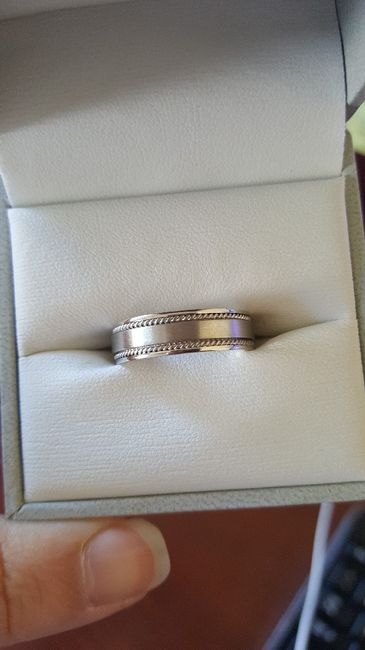 Wedding band for future hubby 4