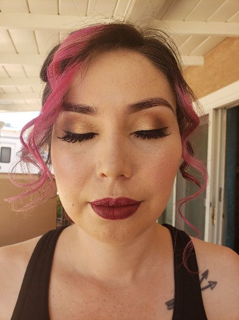 Hair and Makeup Trial! 1