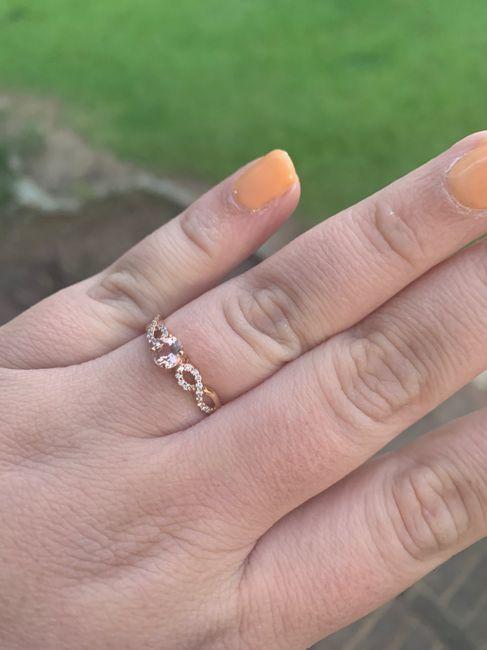 🗣 Rose Gold Rings 11