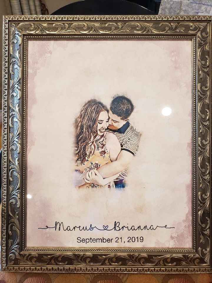 Help! Need creative ideas for a guest book. - 1