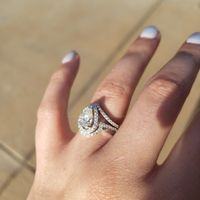 i got my wedding band! Show me your beautiful rings! - 2