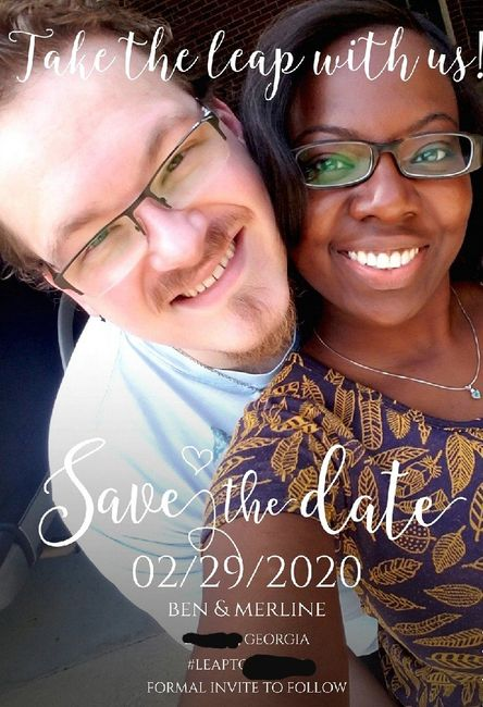 Which Save the Date? 2