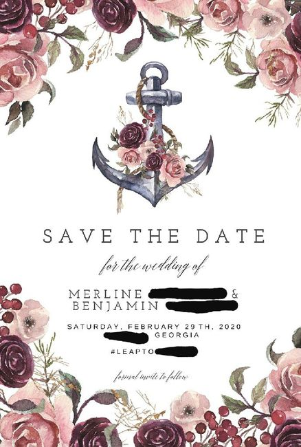 Which Save the Date? 3