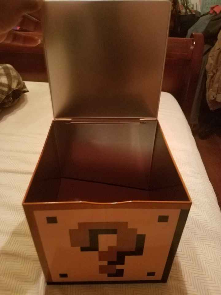 Card box and guest book - 2