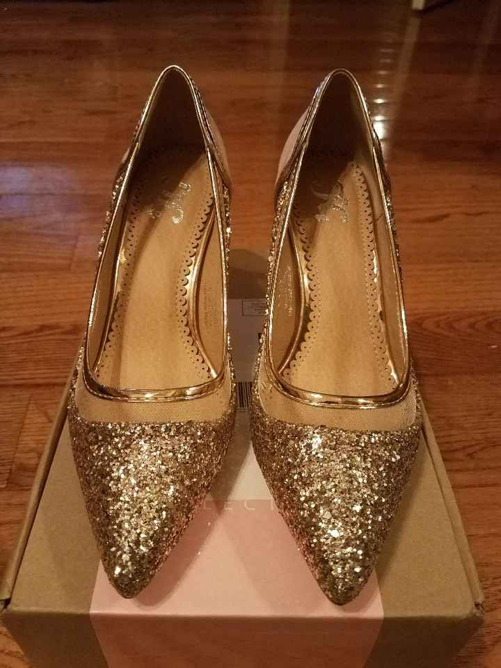 Ceremony and reception shoes 😍 - 1