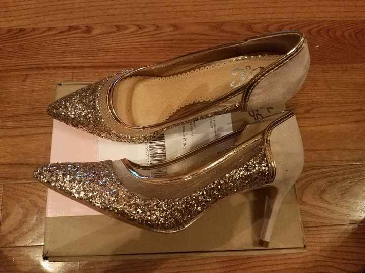 Ceremony and reception shoes 😍 - 2
