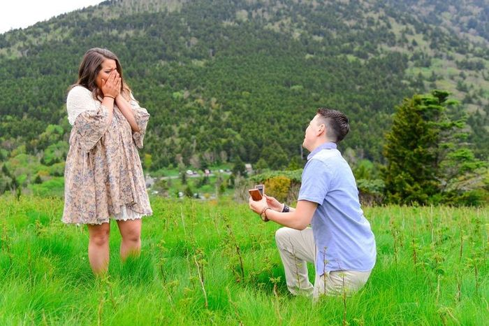 Was your proposal in a sentimental location? 1