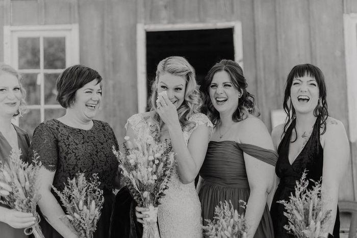 True or False: I tear up at weddings! 1