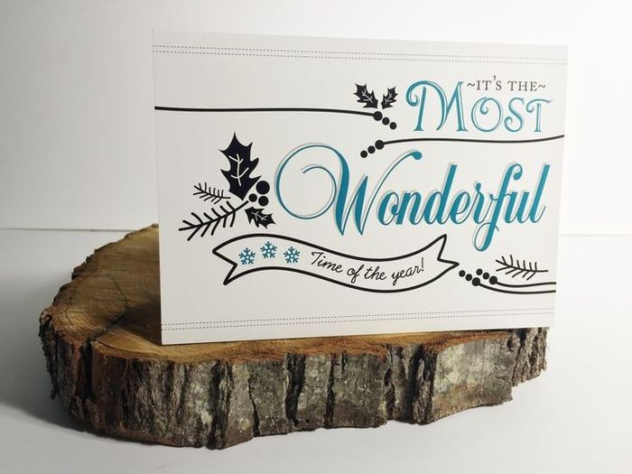 Are you sending holiday cards as a couple? 1