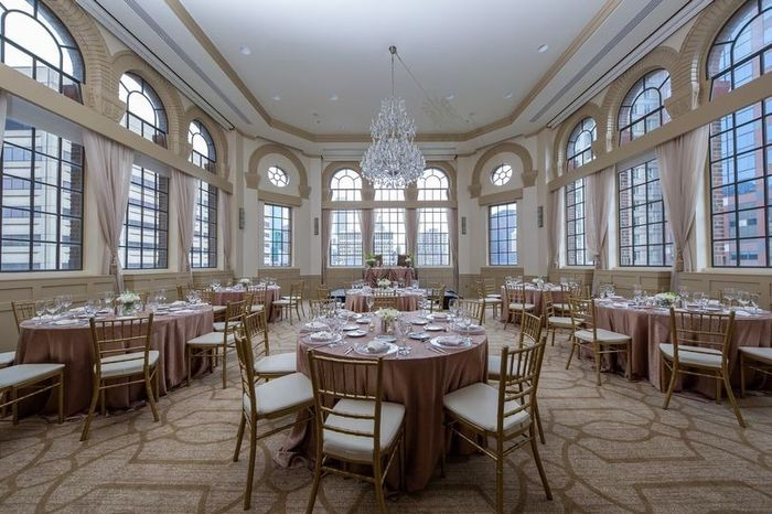Which came first: booking your ceremony venue or your reception venue? 2