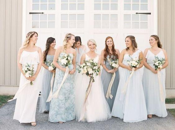 Different Bridesmaid Dresses - 1