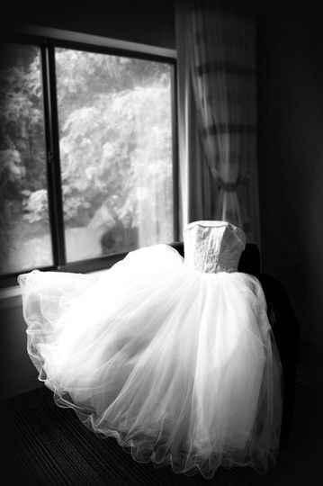 Hanging and Displaying My Wedding Dress - 2