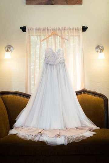 Hanging and Displaying My Wedding Dress - 3