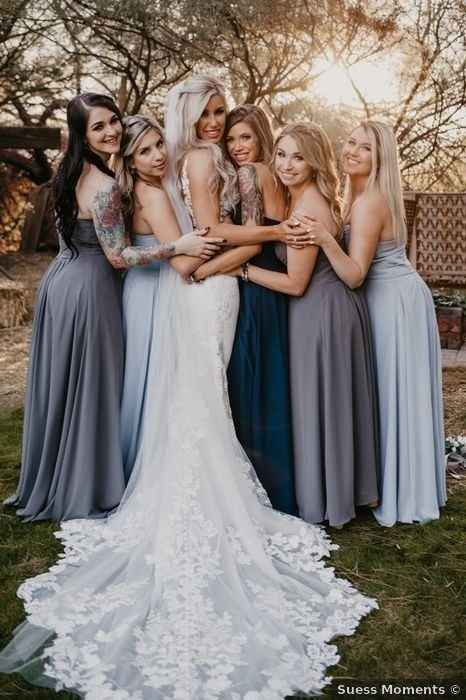 Different Bridesmaid Dresses - 2