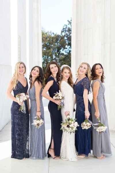 Different Bridesmaid Dresses - 3