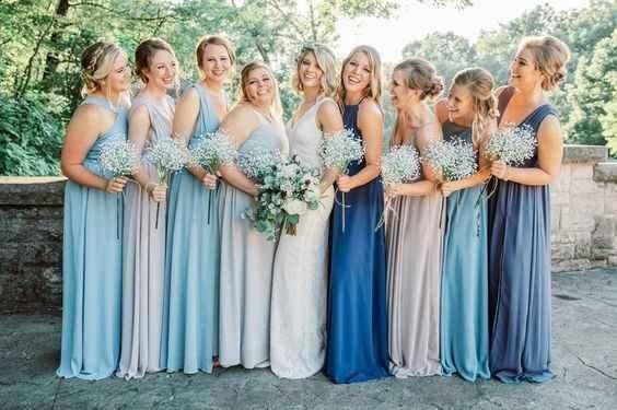Different Bridesmaid Dresses - 4
