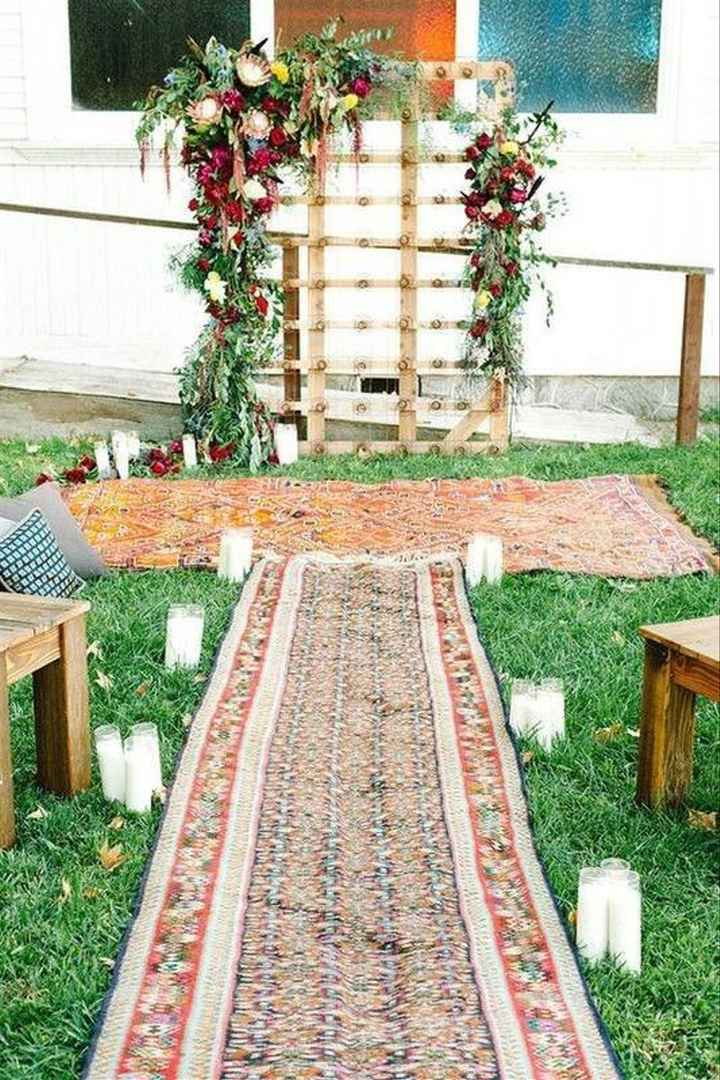 How to make a backdrop for wedding reception - 1