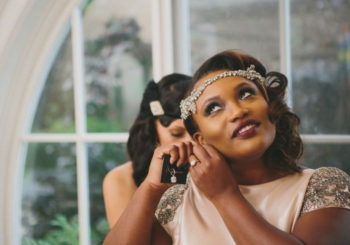 Where are you getting ready on your wedding day? 1