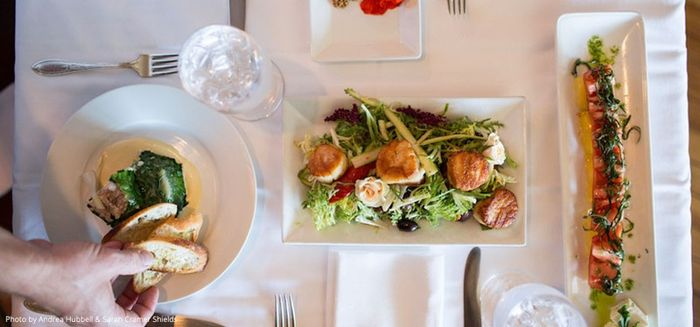 Catering - through your venue, or separate? 1