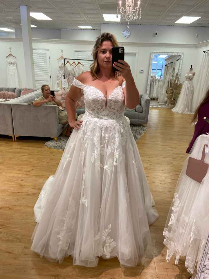 Just want to talk about my dress! - 1