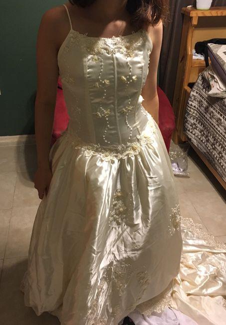 Wedding dress surprise. Ideas pls - 1