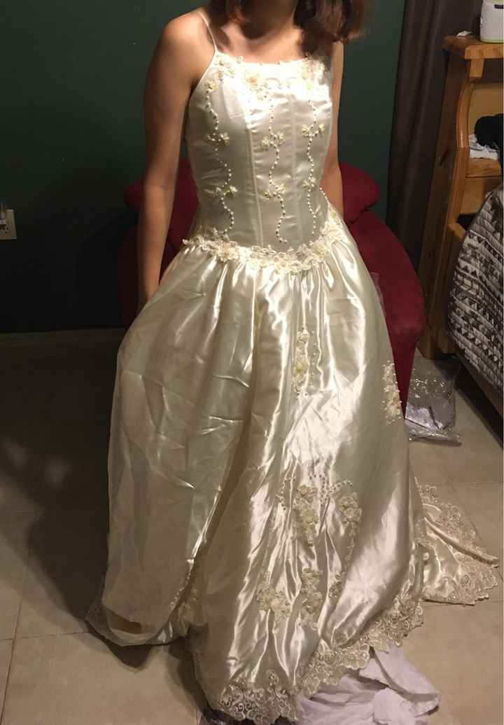 Wedding dress surprise. Ideas pls - 2