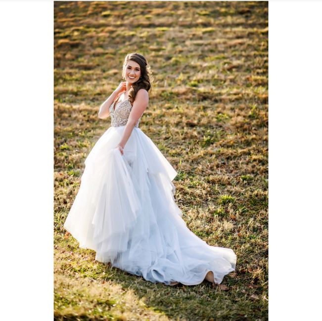 """Hayley Paige """"arlo"""" Gown 8"""