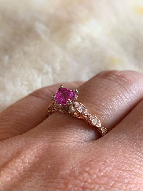 i want to see your engagement rings! 2