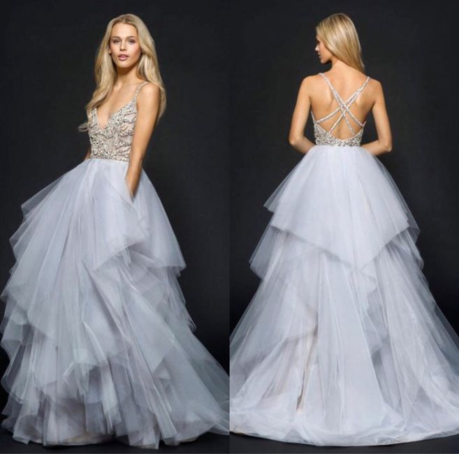 Wedding gowns with color? 1