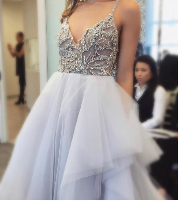 Wedding gowns with color? 2