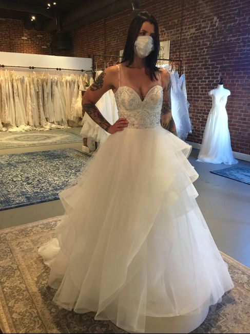 Other gowns i tried on! 4