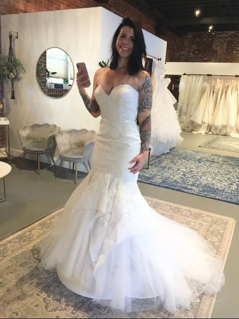 Other gowns i tried on! 8
