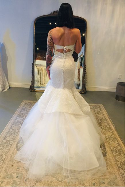 Other gowns i tried on! 9