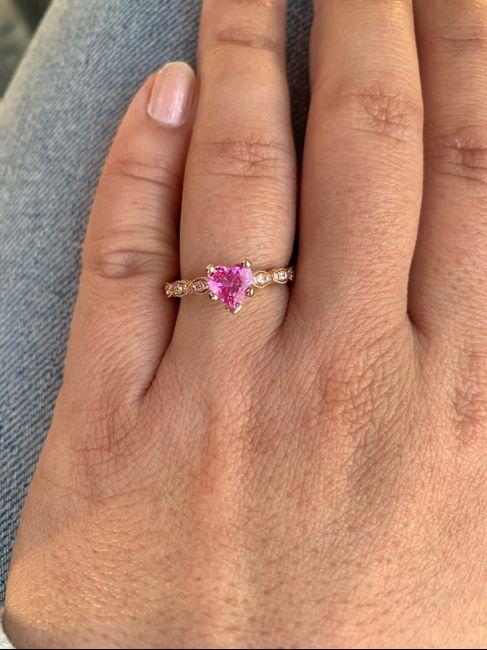 Sapphires as wedding rings! 7