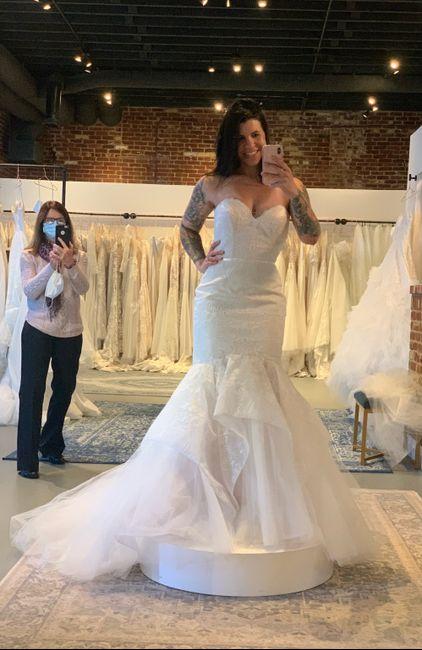 Custom sketch of my wedding dress!  Love it! 2