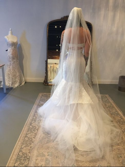 Veil with rose gold? 5