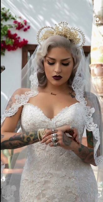 Veil with rose gold? 9