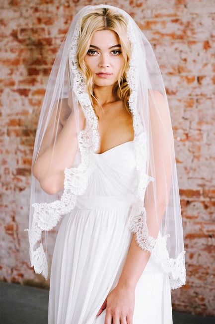 Veil with rose gold? 11