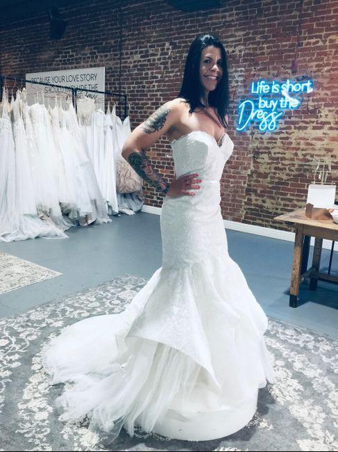 Brides of 2022 - Dress Pics! 1